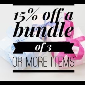 Other - ❗️15% OFF BUNDLES🎉❗️
